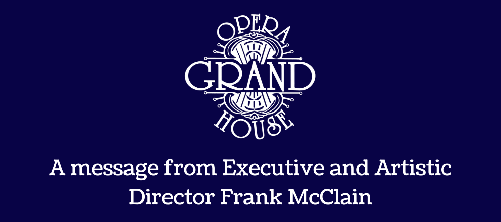 A Message from Executive and Artistic Director
